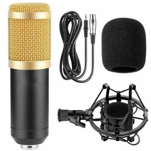 Karaoke Microphone BM-800 Studio Condenser Microphone for Broadcasting, Singing and Recording_16