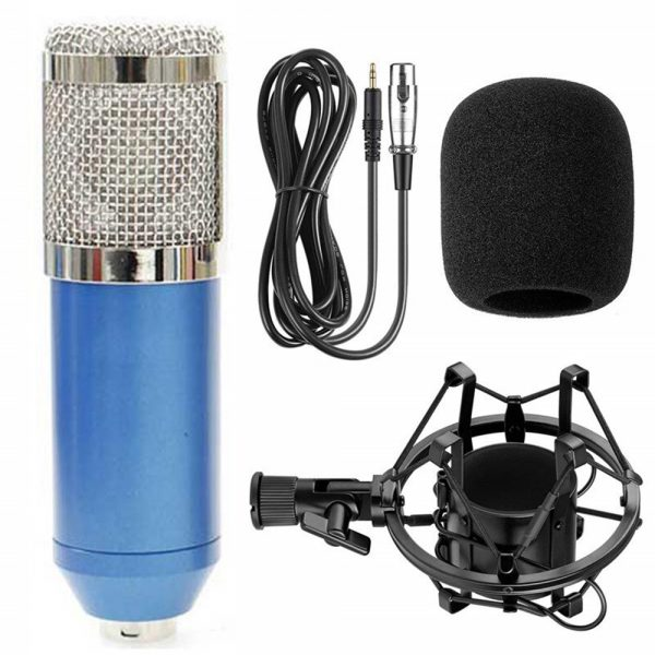 Karaoke Microphone BM-800 Studio Condenser Microphone for Broadcasting, Singing and Recording_18