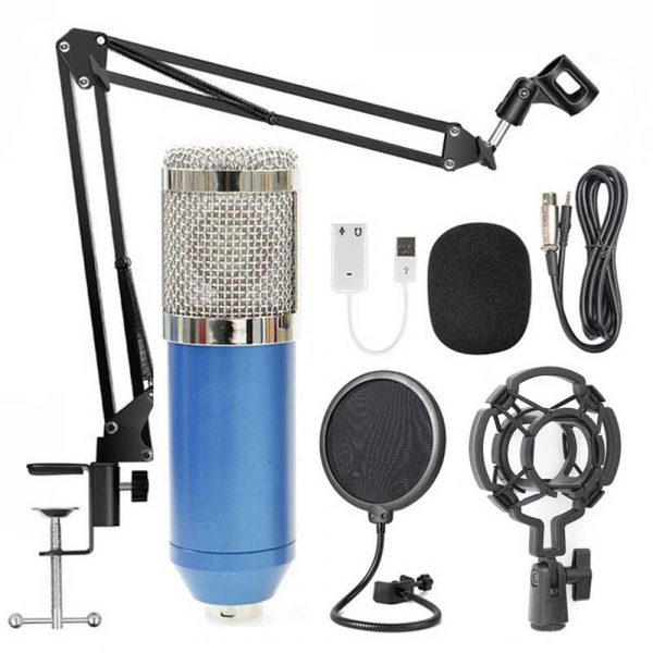 Karaoke Microphone BM-800 Studio Condenser Microphone for Broadcasting, Singing and Recording_19