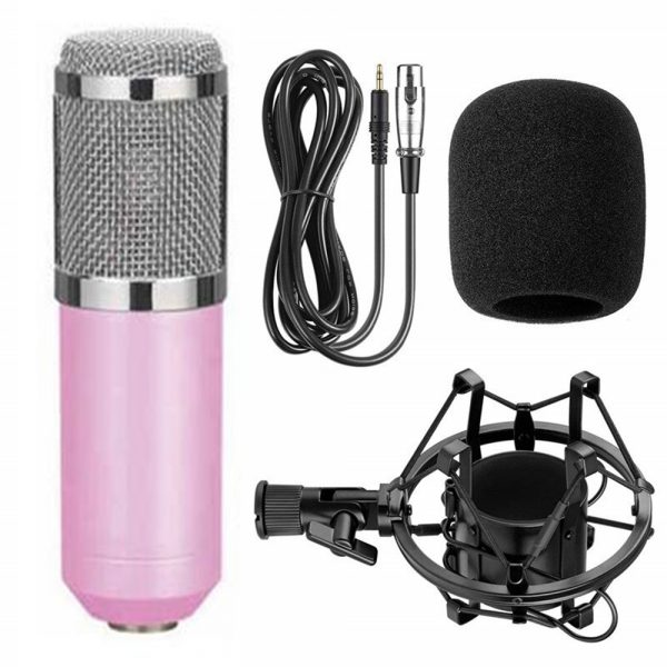 Karaoke Microphone BM-800 Studio Condenser Microphone for Broadcasting, Singing and Recording_5