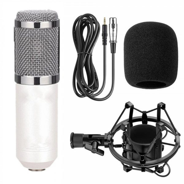Karaoke Microphone BM-800 Studio Condenser Microphone for Broadcasting, Singing and Recording_6