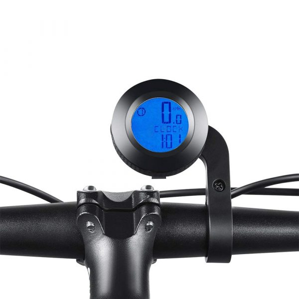 Tri-color RGB Wireless Round Waterproof Self-Propelled Backlight English Odometer_1