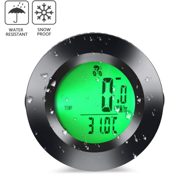 Tri-color RGB Wireless Round Waterproof Self-Propelled Backlight English Odometer_12