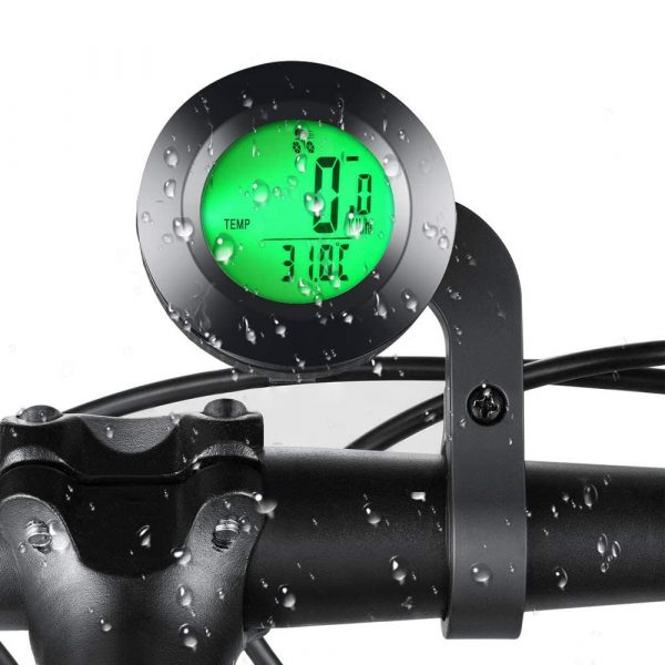 Tri-color RGB Wireless Round Waterproof Self-Propelled Backlight English Odometer_6