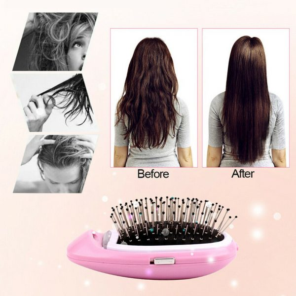Negative Ion Battery Operated Hair Brush Styling Hair Comb and Scalp Massager_10