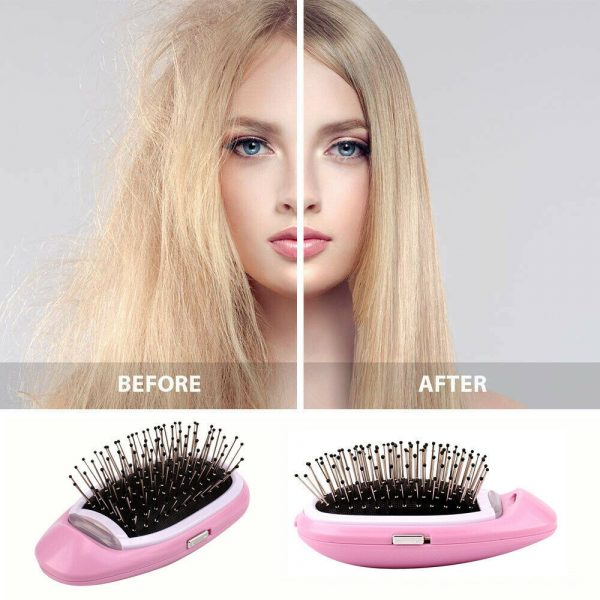 Negative Ion Battery Operated Hair Brush Styling Hair Comb and Scalp Massager_11