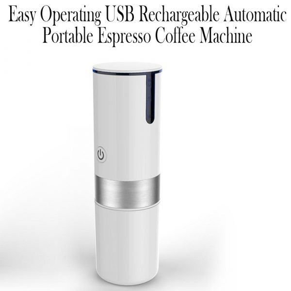 Easy Operating USB Rechargeable Automatic Portable Espresso Coffee Machine_7