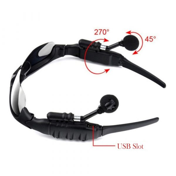 Outdoor Polarized Light Sunglasses and Wireless Bluetooth Headset Portable Glasses Headset_7