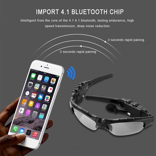Outdoor Polarized Light Sunglasses and Wireless Bluetooth Headset Portable Glasses Headset_11