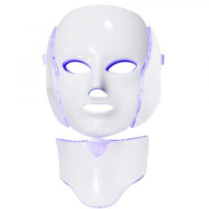 7 Changeable Color LED Light Photon Face and Neck Mask Rejuvenating Facial Therapy Machine