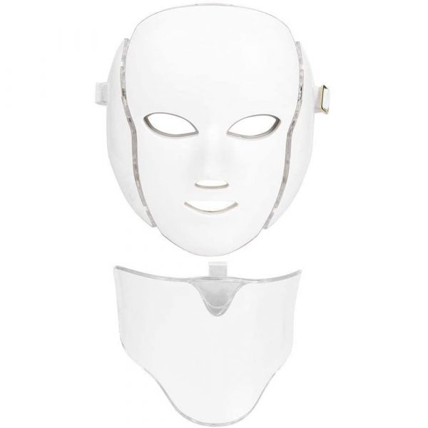 7 Changeable Color LED Light Photon Face and Neck Mask Rejuvenating Facial Therapy Machine_1