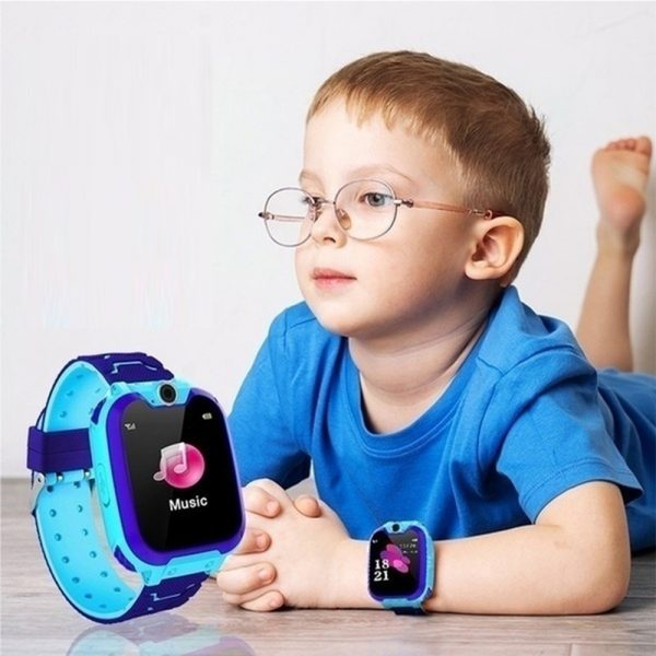 Q12 Life Waterproof SOS USB Rechargeable Smartwatch for Children iOS and Android Ready_1