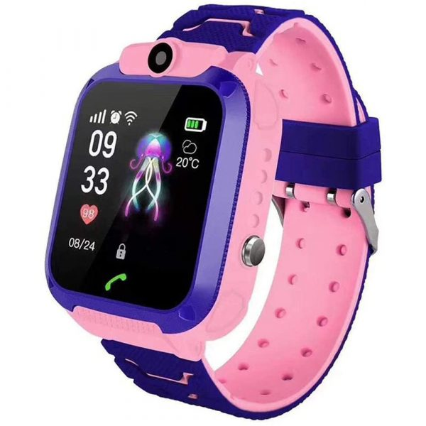 Q12 Life Waterproof SOS USB Rechargeable Smartwatch for Children iOS and Android Ready_5