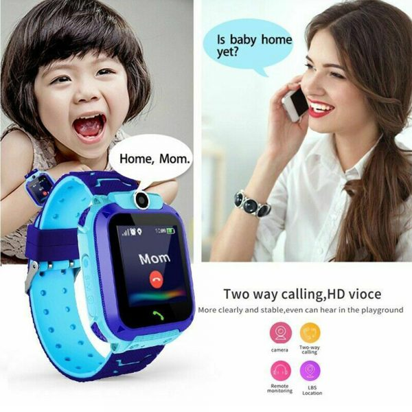 Q12 Life Waterproof SOS USB Rechargeable Smartwatch for Children iOS and Android Ready_6