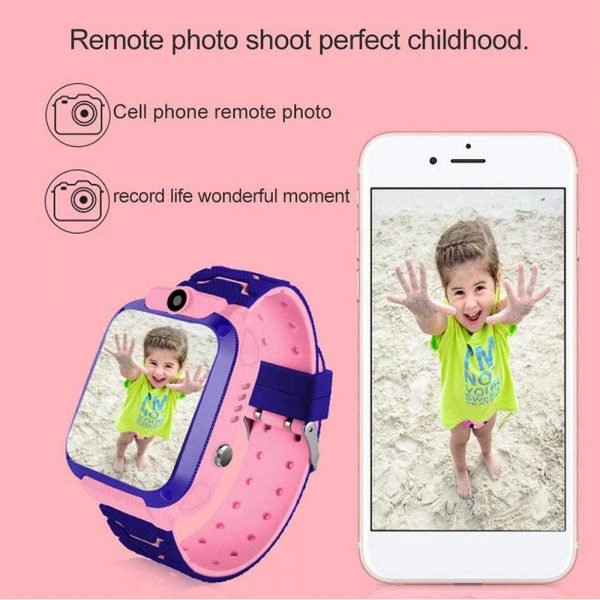 Q12 Life Waterproof SOS USB Rechargeable Smartwatch for Children iOS and Android Ready_7