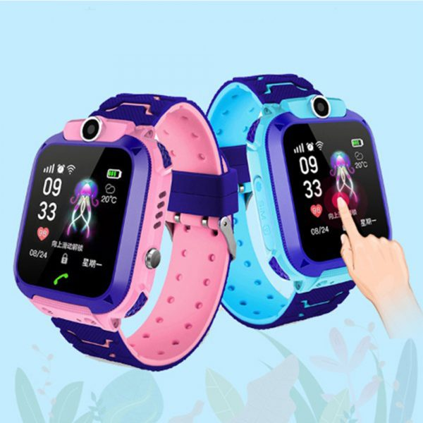 Q12 Life Waterproof SOS USB Rechargeable Smartwatch for Children iOS and Android Ready_14