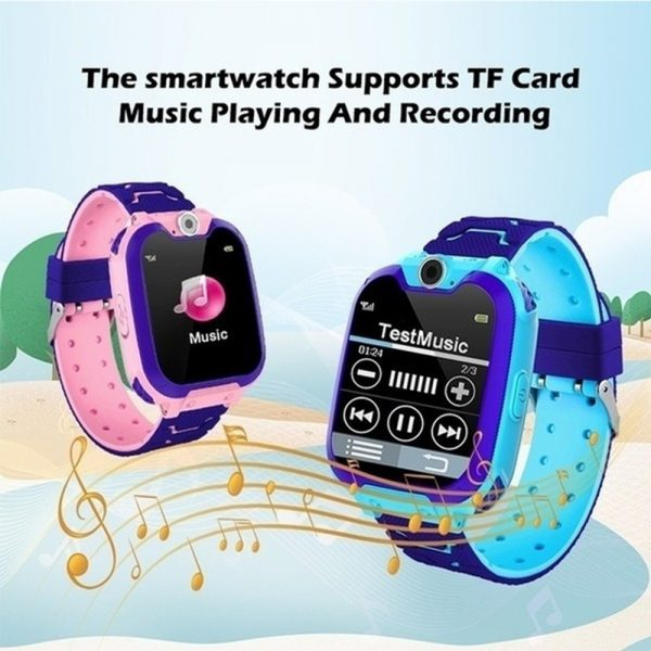 Q12 Life Waterproof SOS USB Rechargeable Smartwatch for Children iOS and Android Ready_15