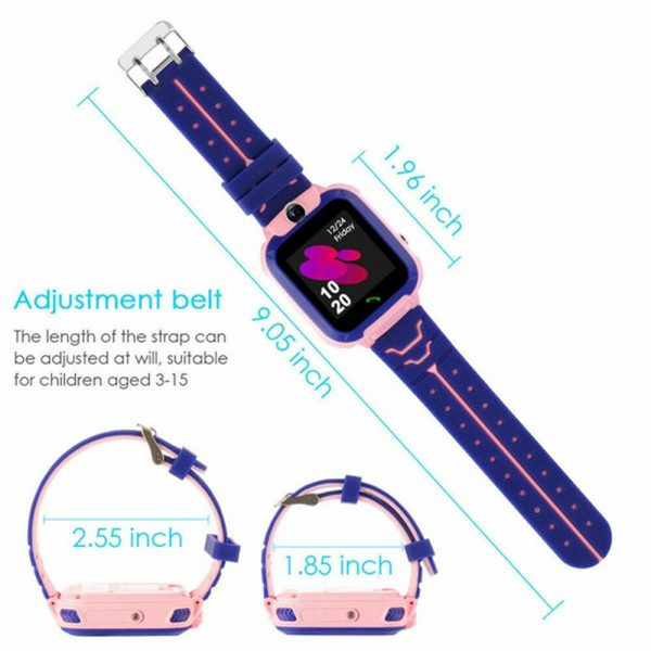 Q12 Life Waterproof SOS USB Rechargeable Smartwatch for Children iOS and Android Ready_18
