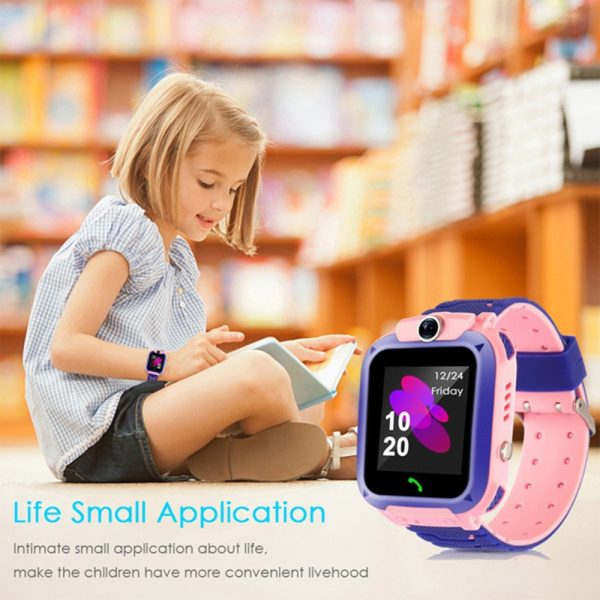 Q12 Life Waterproof SOS USB Rechargeable Smartwatch for Children iOS and Android Ready_9
