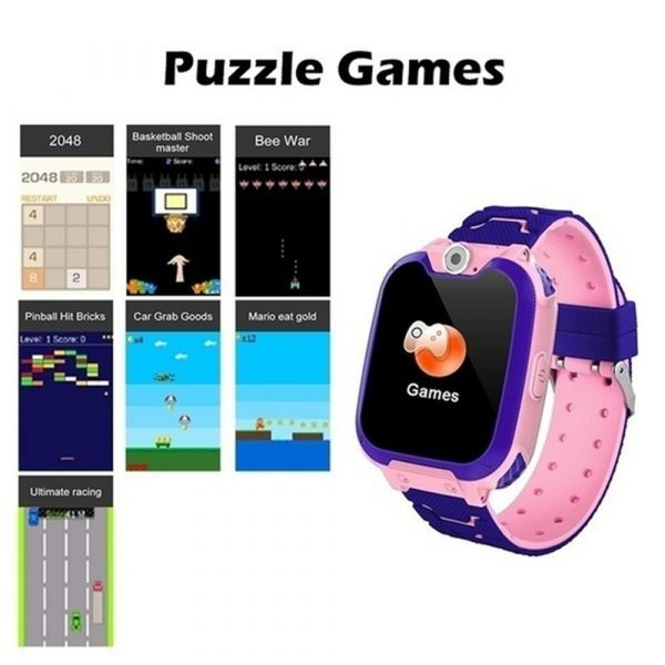 Q12 Life Waterproof SOS USB Rechargeable Smartwatch for Children iOS and Android Ready_11