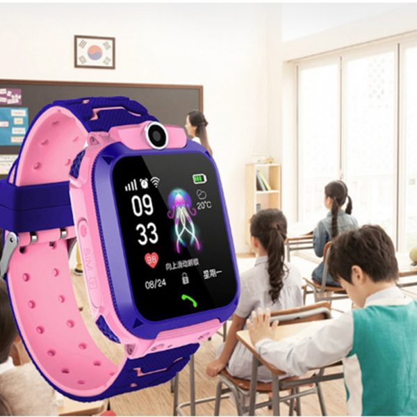 Q12 Life Waterproof SOS USB Rechargeable Smartwatch for Children iOS and Android Ready_13