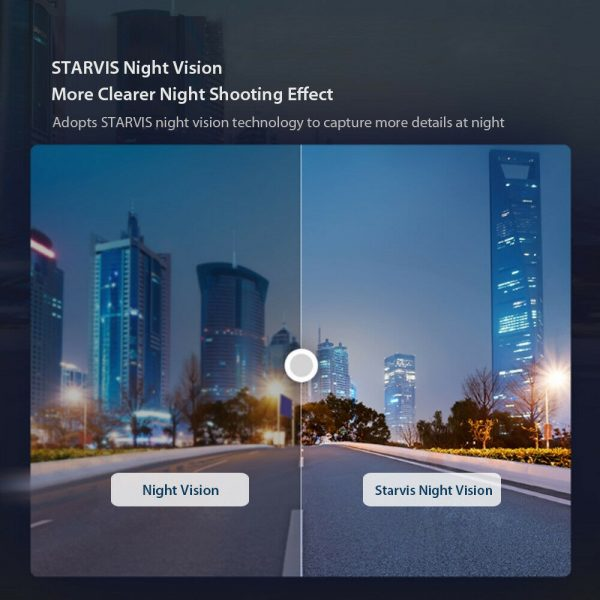 70 Mai HD Wi-Fi Smart Driving Safety Camera Recorder Night Vision Voice Controlled Dash Camera_7