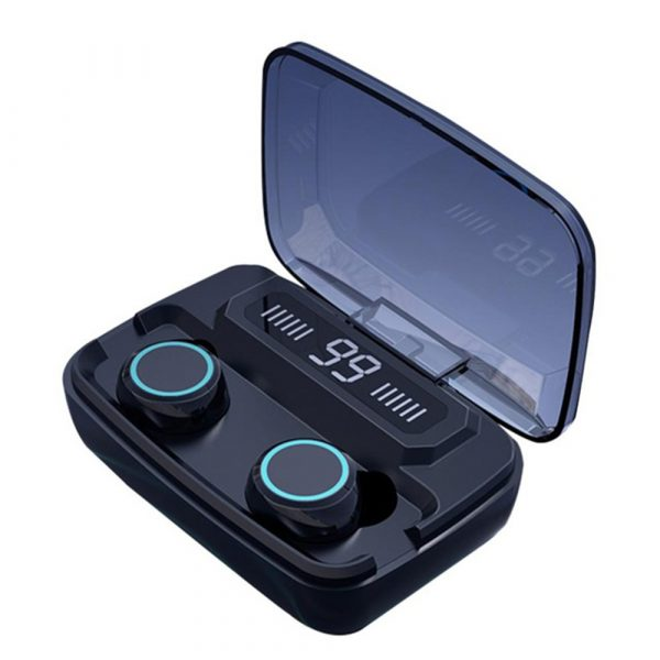 M11 Wireless In-Ear Sports Bluetooth 5.0 Headset with Digital Power Display and Charging Box_0