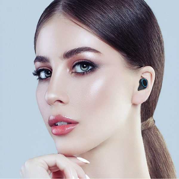M11 Wireless In-Ear Sports Bluetooth 5.0 Headset with Digital Power Display and Charging Box_1
