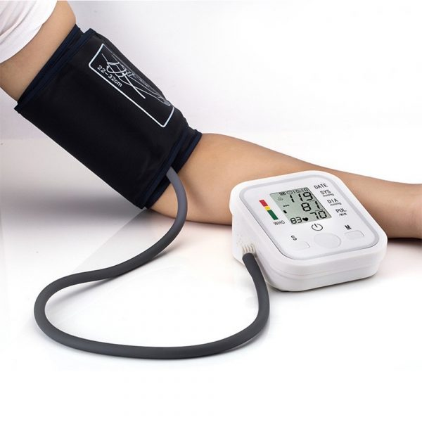 High Accuracy Digital Blood Pressure Monitor Sphygmomanometer for Home and Hospital Use_10