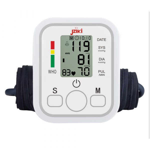 High Accuracy Digital Blood Pressure Monitor Sphygmomanometer for Home and Hospital Use_0