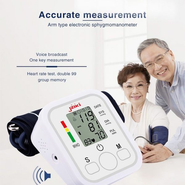 High Accuracy Digital Blood Pressure Monitor Sphygmomanometer for Home and Hospital Use_13