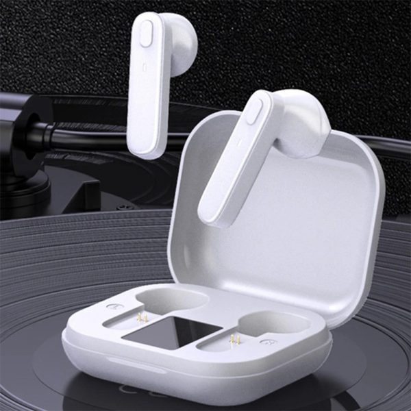 R20 TWS Wireless Bluetooth Headphones deep Bass Waterproof Earbuds with Mic and Charging Case_2