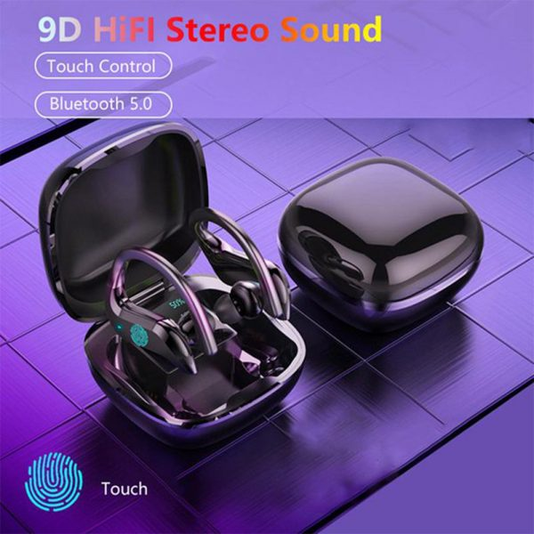 MD03 TWS Wireless Bluetooth Earphones Over-Ear Hanging Ear Hooks for iOS and Android Devices_13