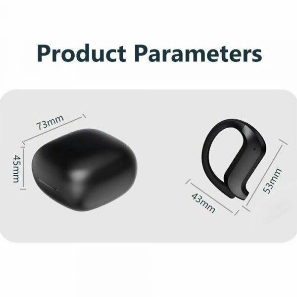 MD03 TWS Wireless Bluetooth Earphones Over-Ear Hanging Ear Hooks for iOS and Android Devices_4