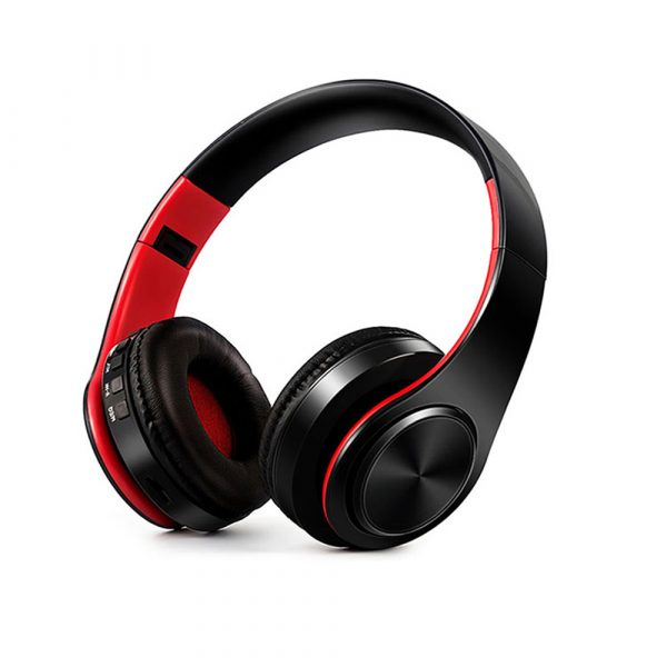 Foldable Wireless Bluetooth Headphones Hands-free Stereo Headset with TF Card Slot_0