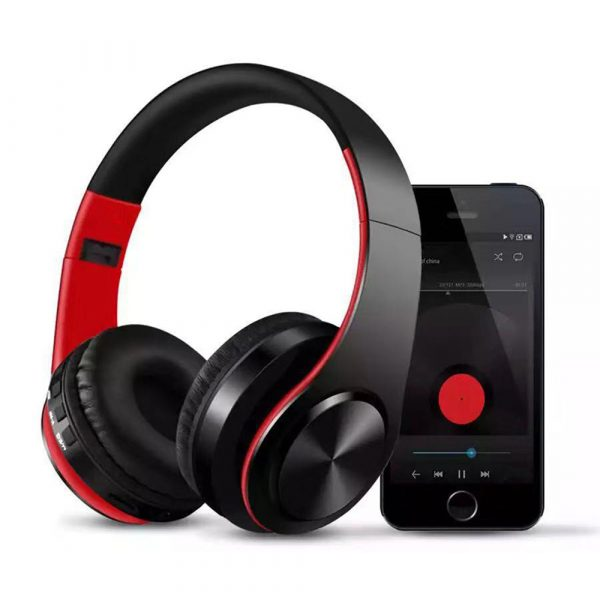 Foldable Wireless Bluetooth Headphones Hands-free Stereo Headset with TF Card Slot_1