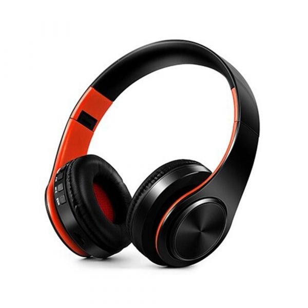 Foldable Wireless Bluetooth Headphones Hands-free Stereo Headset with TF Card Slot_12