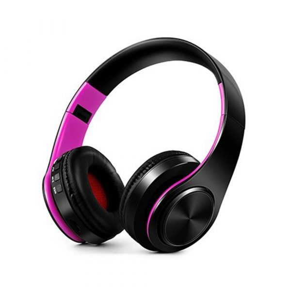 Foldable Wireless Bluetooth Headphones Hands-free Stereo Headset with TF Card Slot_14