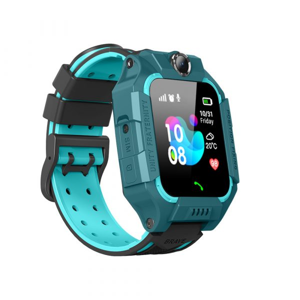 Z6 Q19 Kids Waterproof Smart Watch with Touch Camera SOS Watch for Boys and Girls_0