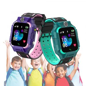Z6 Q19 Kids Waterproof Smart Watch with Touch Camera SOS Watch for Boys and Girls