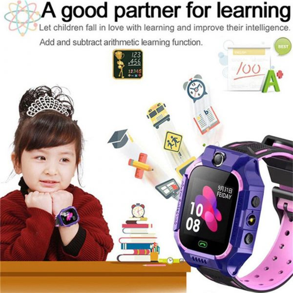 Z6 Q19 Kids Waterproof Smart Watch with Touch Camera SOS Watch for Boys and Girls_15