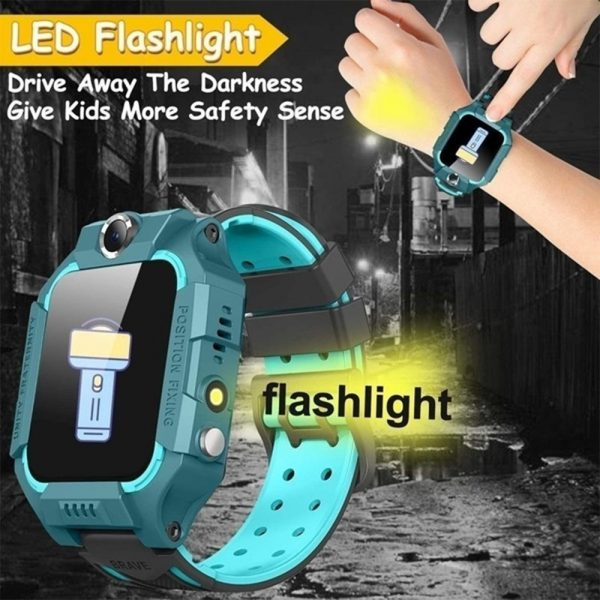 Z6 Q19 Kids Waterproof Smart Watch with Touch Camera SOS Watch for Boys and Girls_16