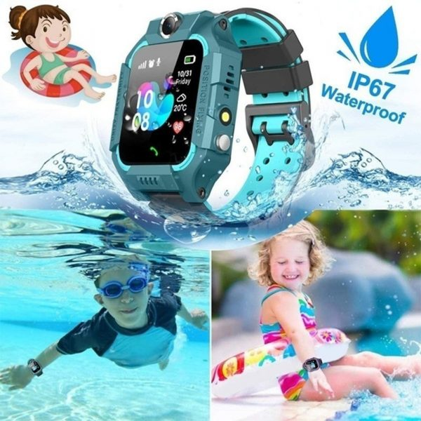 Z6 Q19 Kids Waterproof Smart Watch with Touch Camera SOS Watch for Boys and Girls_3