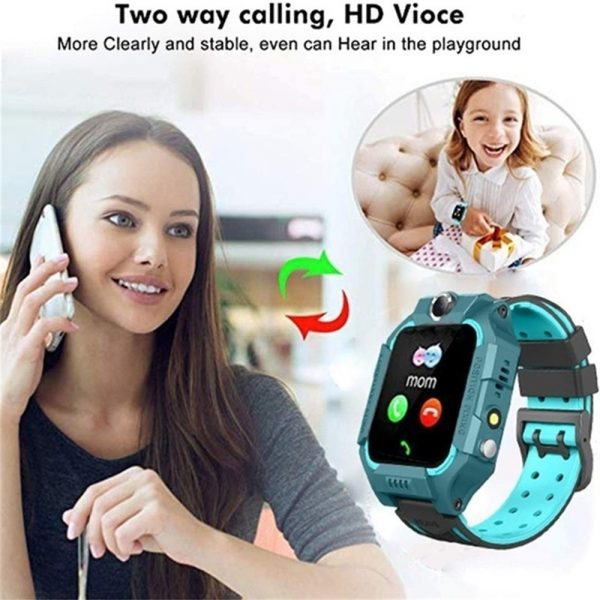 Z6 Q19 Kids Waterproof Smart Watch with Touch Camera SOS Watch for Boys and Girls_4
