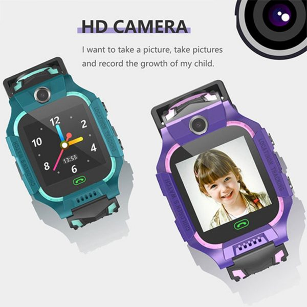 Z6 Q19 Kids Waterproof Smart Watch with Touch Camera SOS Watch for Boys and Girls_6
