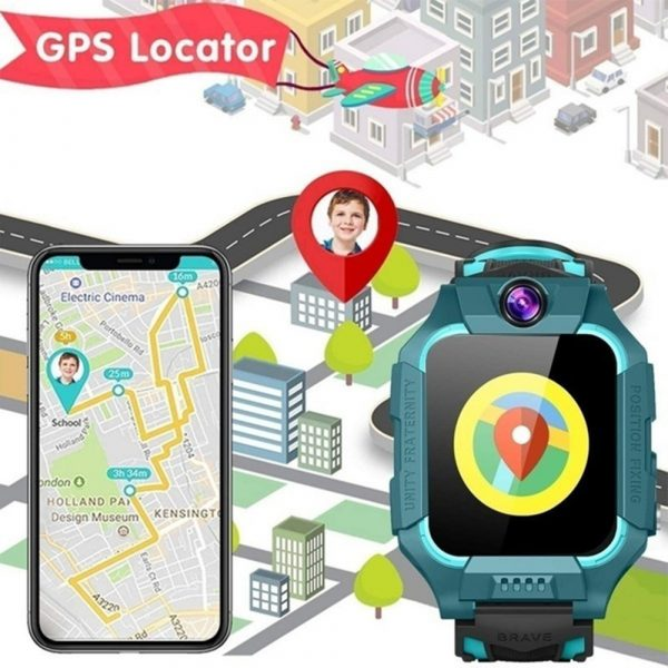 Z6 Q19 Kids Waterproof Smart Watch with Touch Camera SOS Watch for Boys and Girls_8
