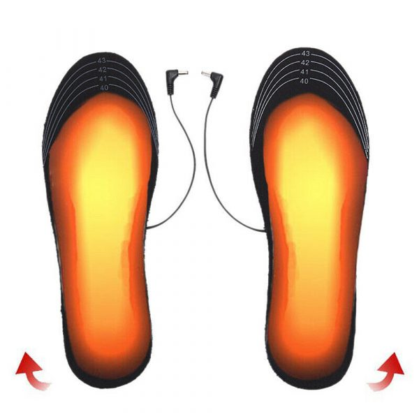 Electric Heating Cut-to-Fit Insoles Washable Thermal Foot Warmer Sock Cushion for Men and Women_3