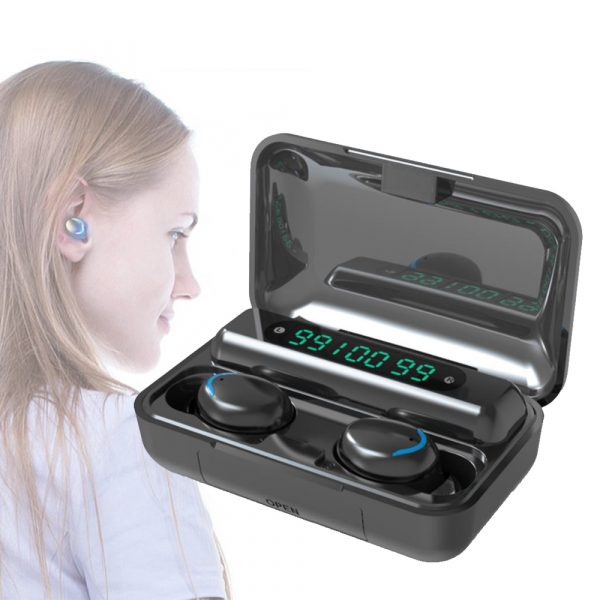 Wireless Waterproof Bluetooth 5.0 Earphones with 1200mAh Charging Box and Mic Sports Earbuds Headsets_8