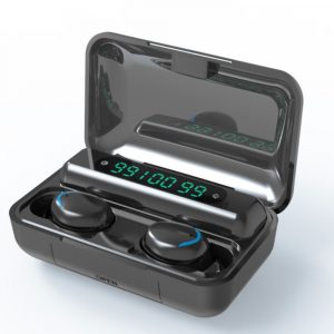 Wireless Waterproof Bluetooth 5.0 Earphones with 1200mAh Charging Box and Mic Sports Earbuds Headsets