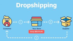 Fig 1. Dropshipping Model